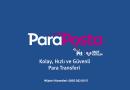 KOLAY, HIZLI VE GÜVENLİ PARA TRANSFERİ : ParaPosta
